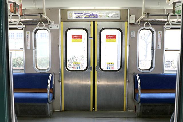 近江鉄道800系 客用ドア