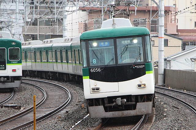 京阪6000系未更新車内