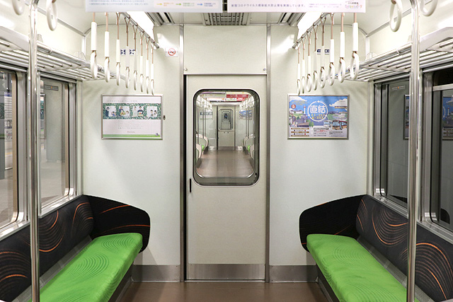 京阪6000系(未更新車)貫通路