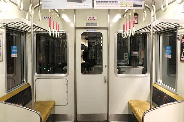 京阪6000系(未更新車)乗務員室背面