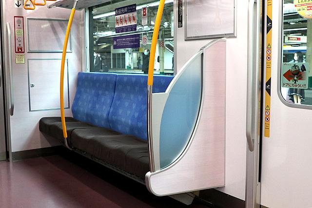 新京成80000形 優先席