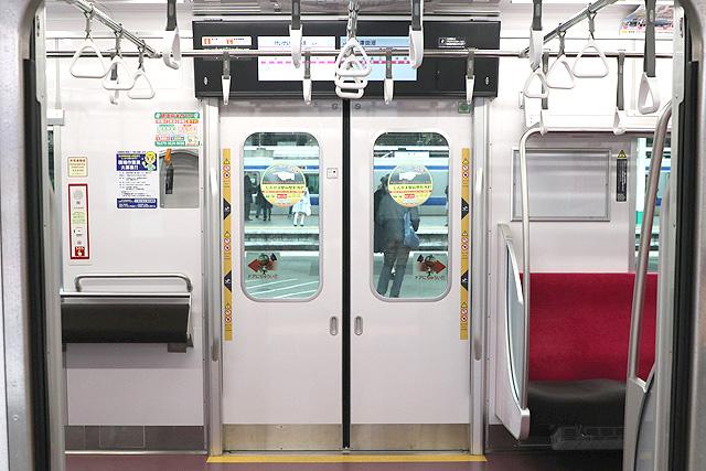 新京成80000形 客用ドア