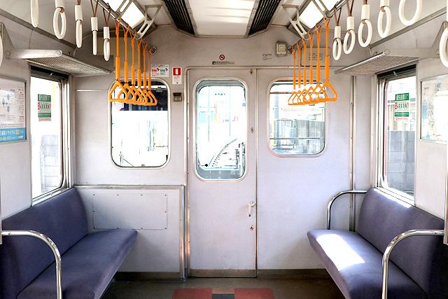 近鉄8400系(ワンマン車)乗務員室背面