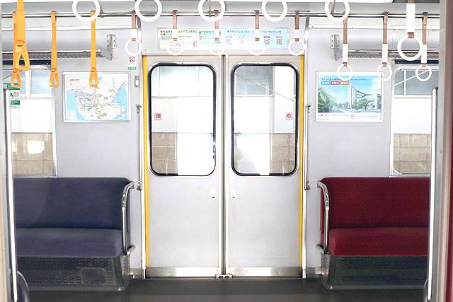 近鉄8400系(ワンマン車)客用ドア