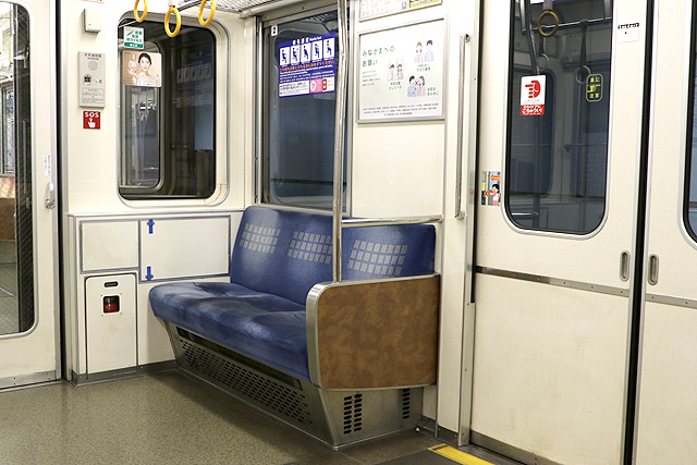 Osaka Metro23系(初期リニューアル車)優先座席