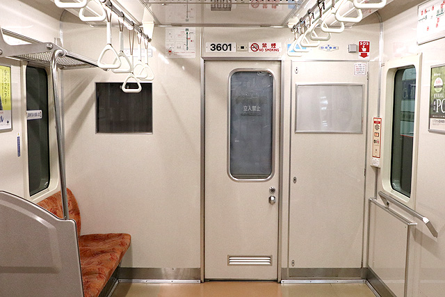 横浜市営地下鉄3000S形 乗務員室背面