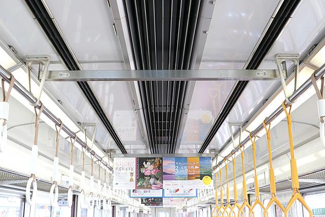 近鉄6413系 天井部