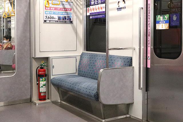 埼玉高速鉄道2000系 優先席