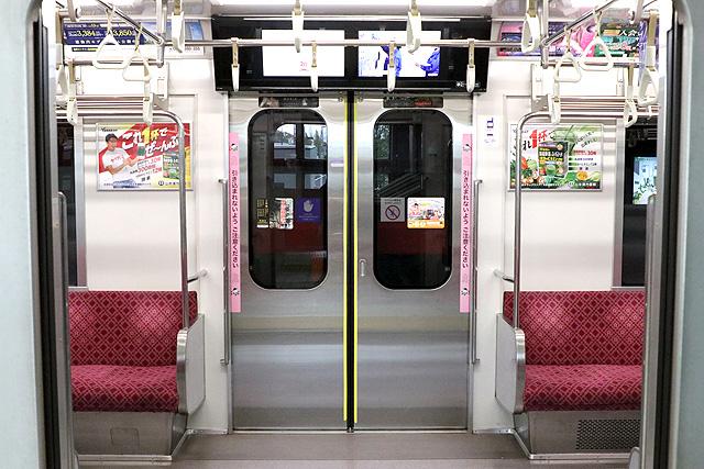 埼玉高速鉄道2000系 客用ドア