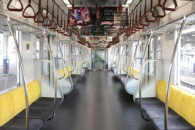 東京メトロ17000系(10両編成)車内