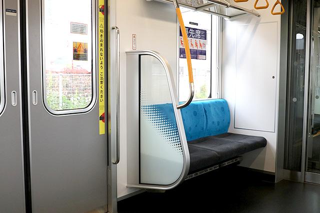 東京メトロ17000系(10両編成)優先席