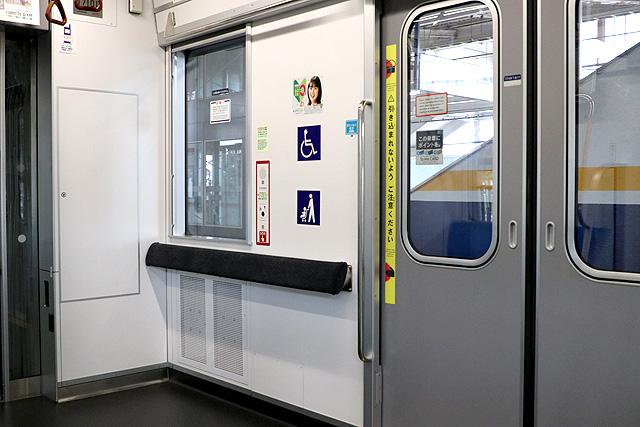 東京メトロ17000系(10両編成)フリースペース