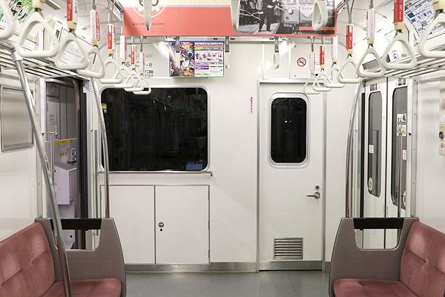 都営6300形(2次車)乗務員室背面
