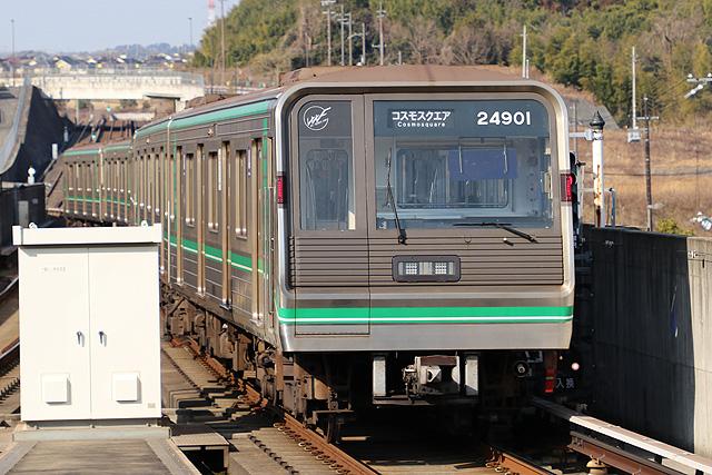 OsakaMetro24系初期リニューアル車車内