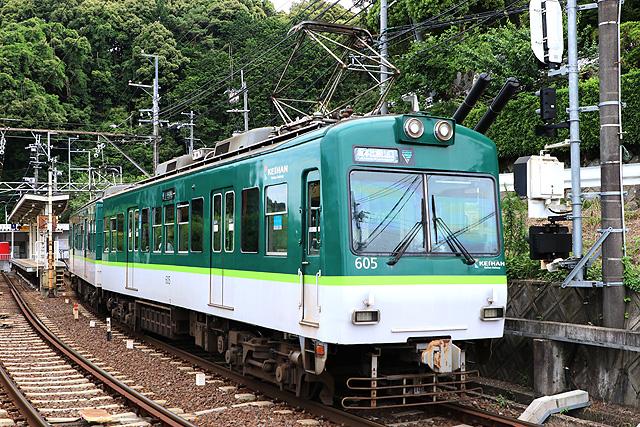 京阪600形1次車車内
