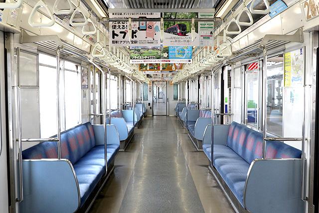 東武30000系(1次車)車内