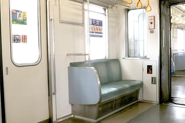 東武30000系(1次車)優先席