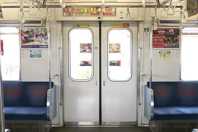東武30000系(1次車)客用ドア