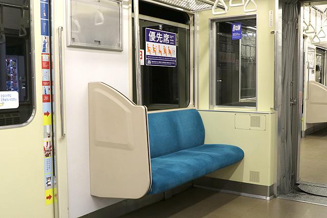 横浜高速鉄道Y000系優先席