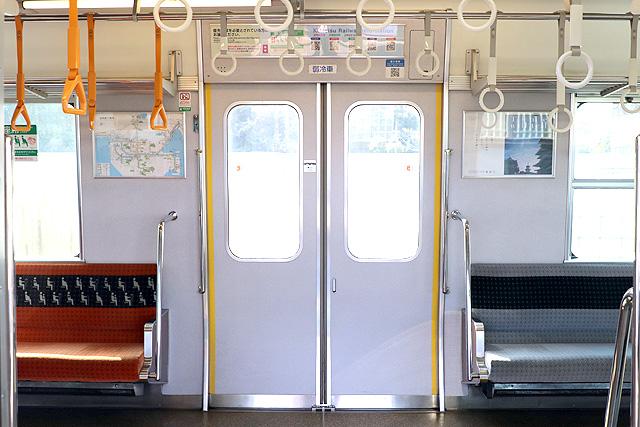 近鉄7020系 客用ドア