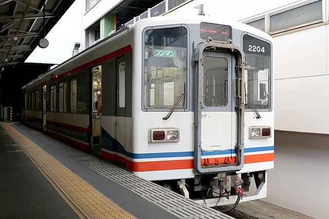 関東鉄道キハ2200形車内