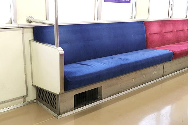 関東鉄道キハ2200形 優先席