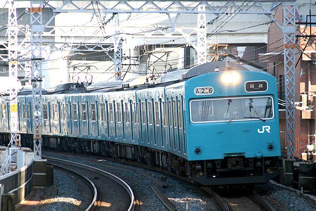 JR西日本103系40Nプロトタイプ車内