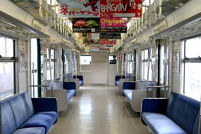 JR西日本103系体質改善車(プロトタイプ)乗務員室背面