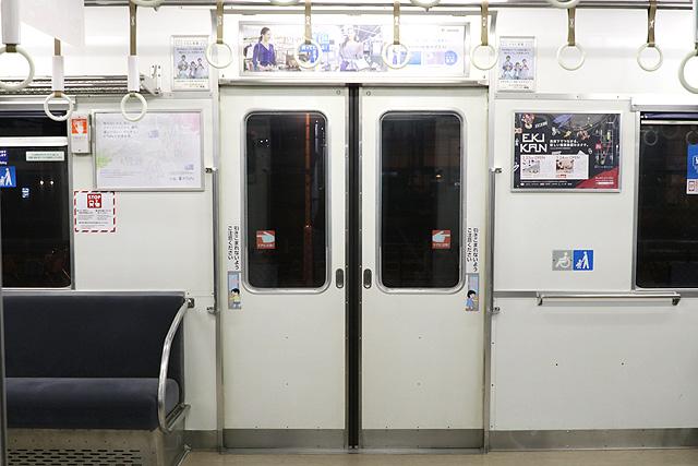 南海2230系 客用ドア