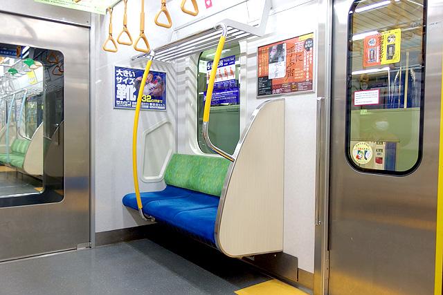 都営地下鉄10-300形(5次車)優先席