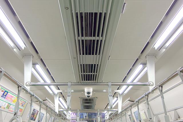 都営地下鉄10-300形(5次車)天井部
