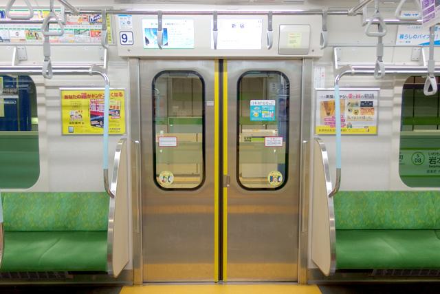 都営地下鉄10-300形(5次車)客用ドア