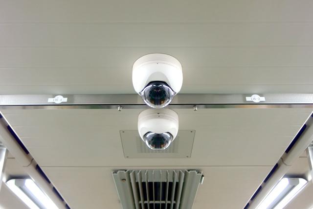 都営地下鉄10-300形(5次車)防犯カメラ