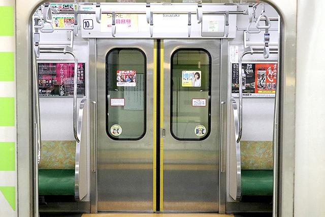 都営10-300形(4次車)客用ドア
