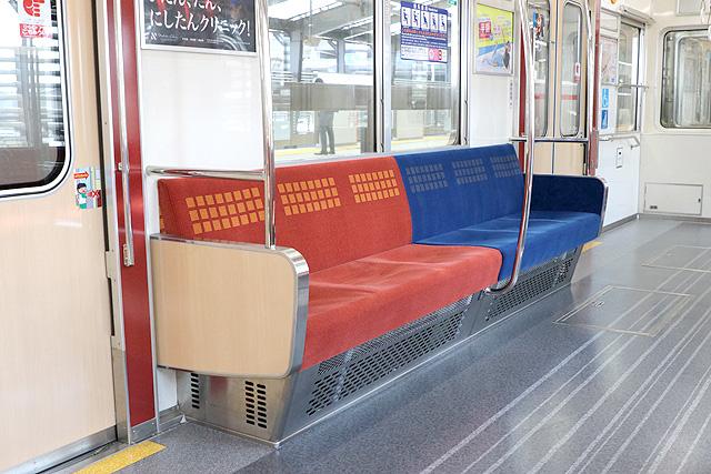 Osaka Metro21系(1996年増備車)優先座席