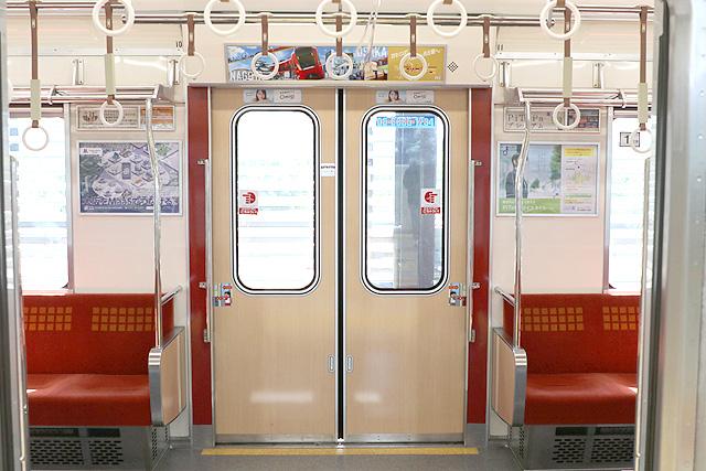 Osaka Metro21系(1996年増備車)客用ドア